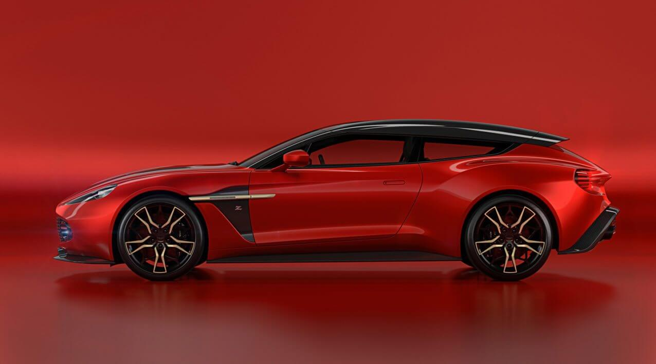 Aston Martin Revealed Vanquish Zagato Shooting Brake
