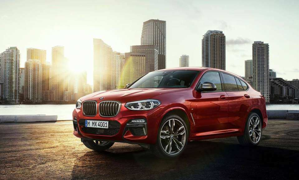 2019 BMW X4 shows off its new face