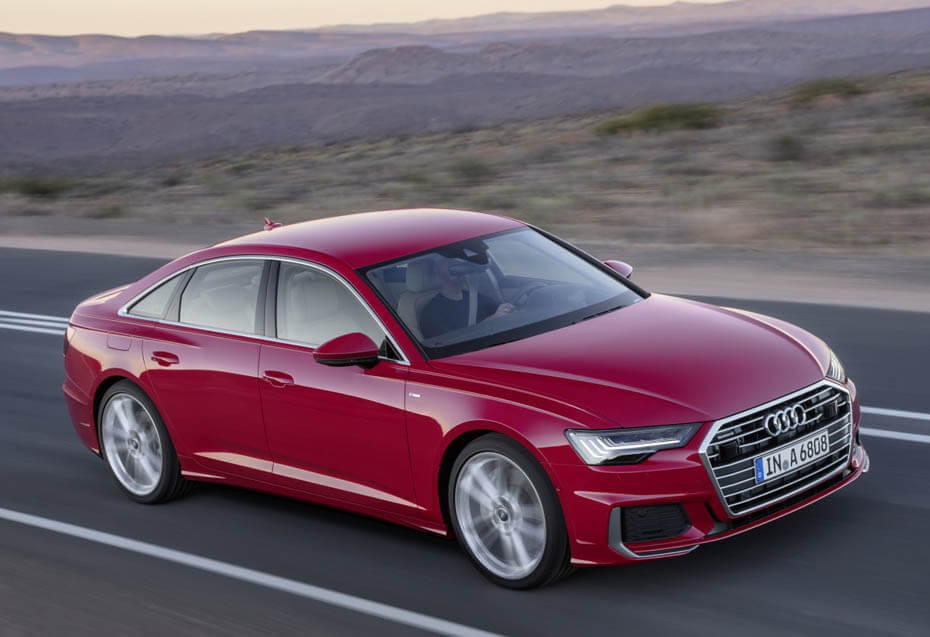 2019 Audi A6 photos leaked