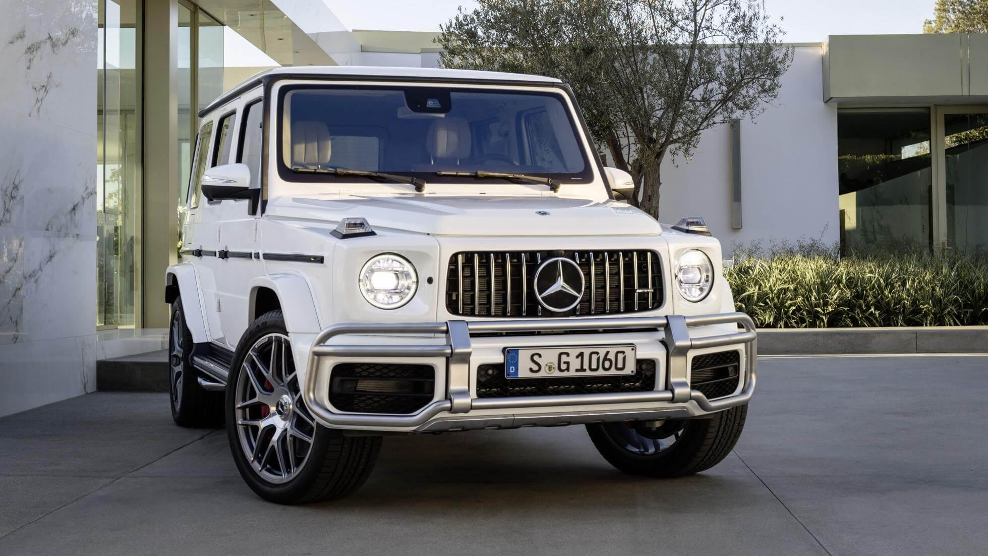 Mercedes-AMG G63 With 577 hp At Geneva