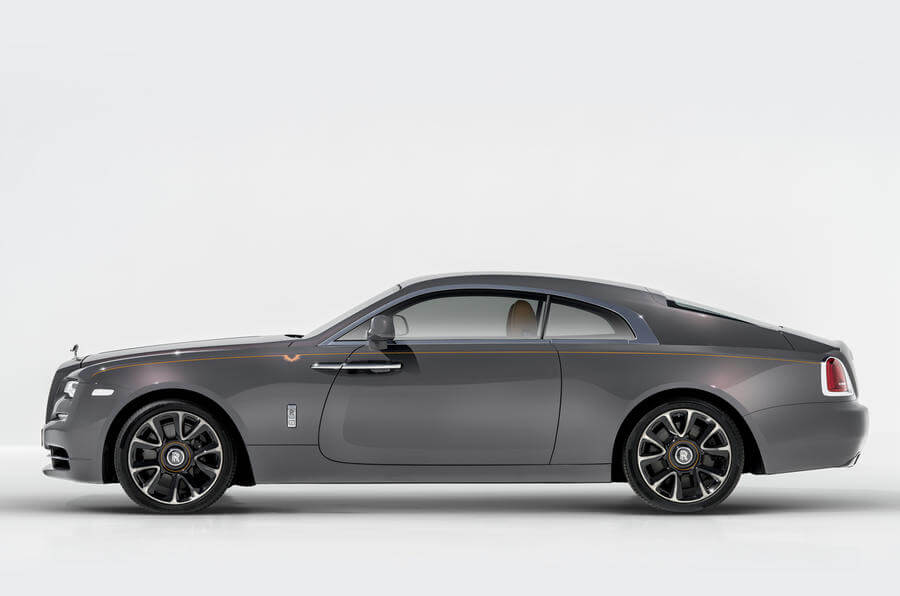 Rolls-Royce Wraith Luminary Collection debuted