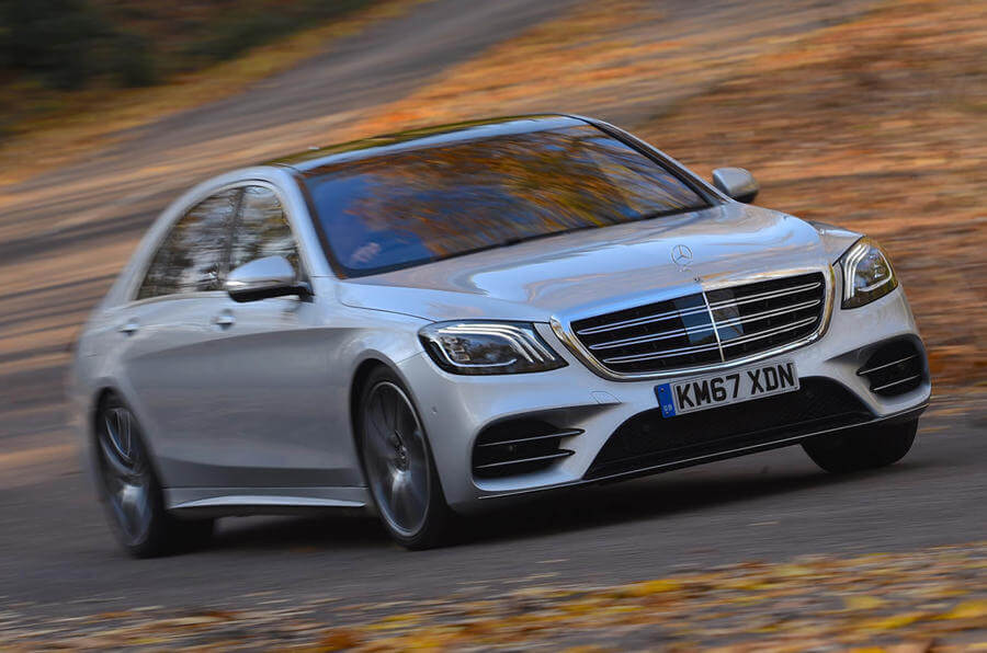 Mercedes S-Class electric vehicles already in 2020