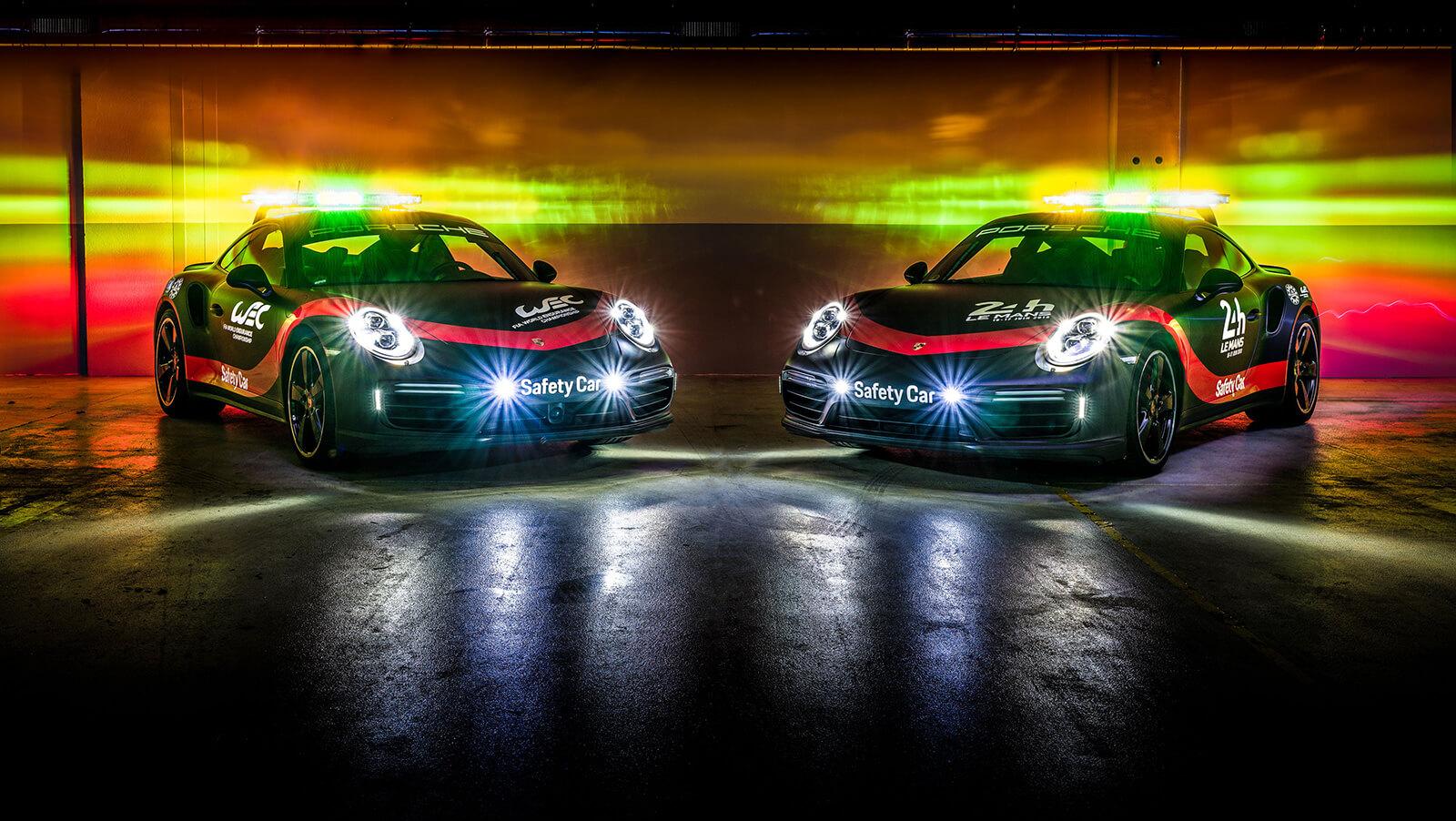 Porsche 911 Turbo safety car for WEC