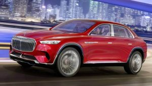 The new concept car Mercedes-Maybach image leak