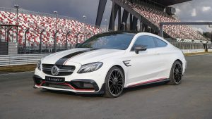 Mercedes-AMG C63 power was raised to 650 hp.