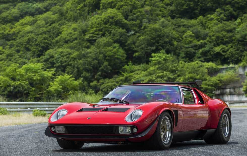 Lamborghini Miura SVR was brought back to life