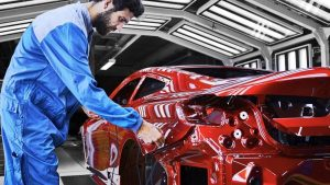 The new BMW 8-series Coupe went into production