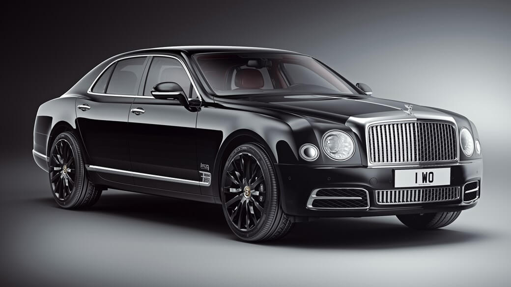New limited edition - Bentley Mulsanne W.O.