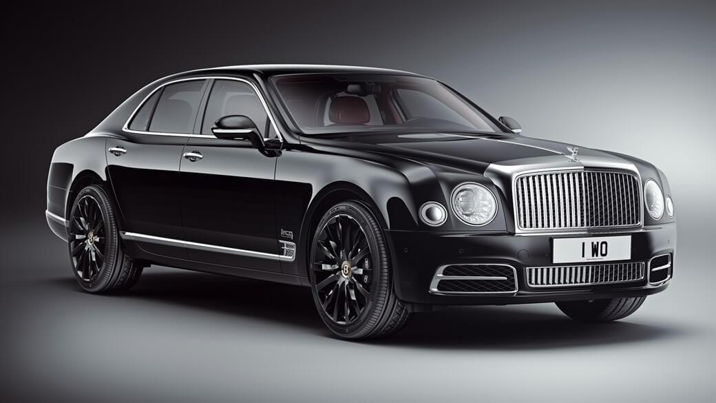 New limited edition - Bentley Mulsanne W.O.