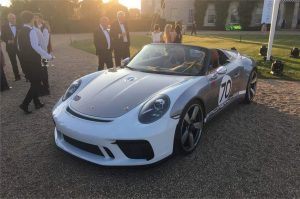 Serial Porsche 911 Speedster debuts at the end of the year