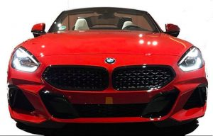 Exterior of the serial BMW Z4 revealed before its debut