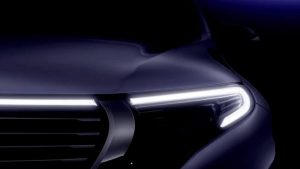 Mercedes-Benz confirmed the debut date of its EQ C