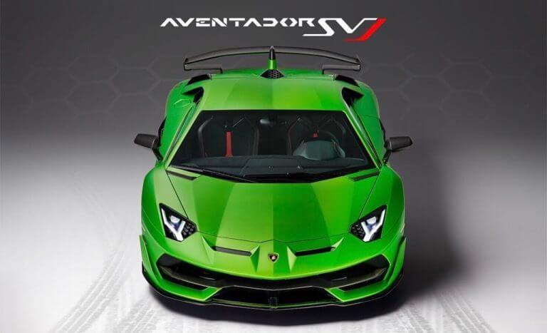Lamborghini Aventador SVJ declassified before its debut